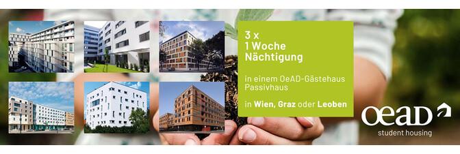 OeAD student housing - Preis Übernachtung